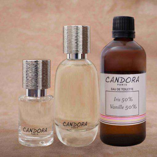 Set of 15 50 100 ml Candora customized fragrances