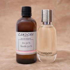 Set of 2 bottles of Candora customized fragrance