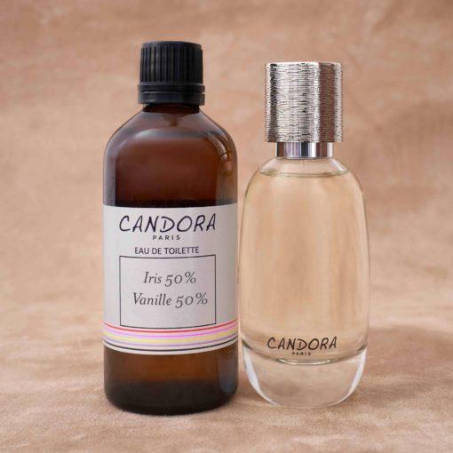 Set of 2 bottles of Candora customized fragrance